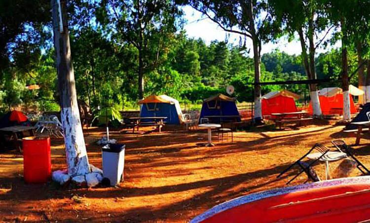 Muğla Kamp Alanları ve Karavan Alanları -Azmakbaşı Camping
