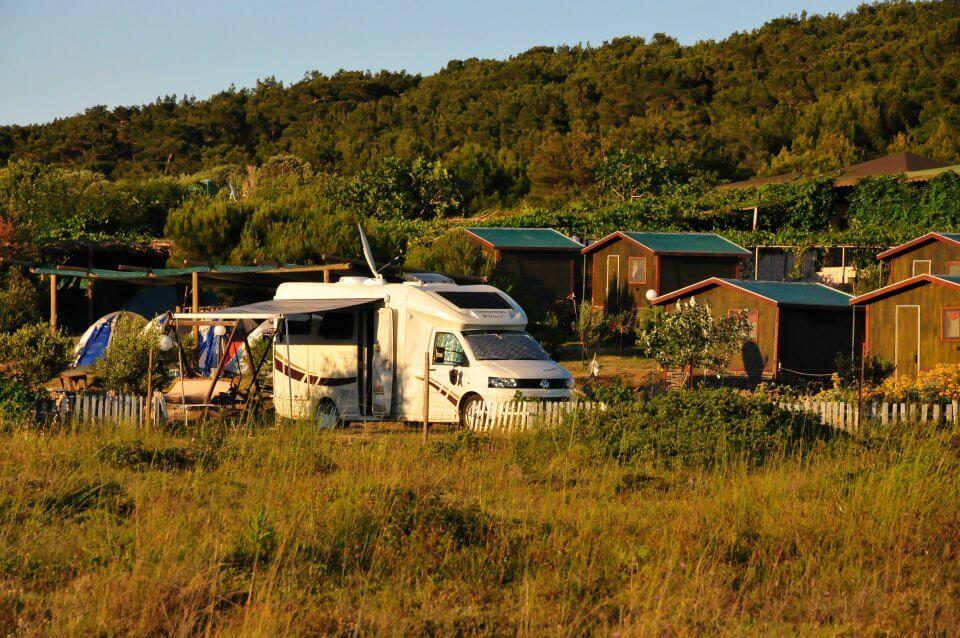 Çanakkale Kamp Alanları ve Karavan Alanları -Bozcaada Camping