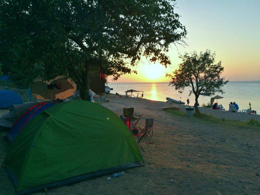 Çanakkale Kamp Alanları ve Karavan Alanları -Saros Camping