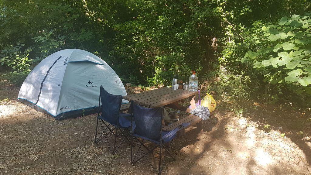 Aglayan Selale Balikesir Kamp Alanlari
