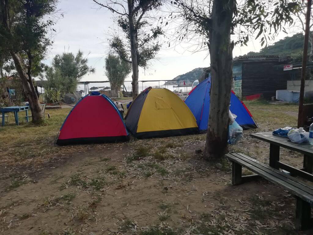 Izmir Kamp Alanlari Sazlica Camping 3