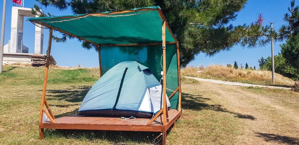 Çanakkale Kamp Alanları - Saros Tepe Camping