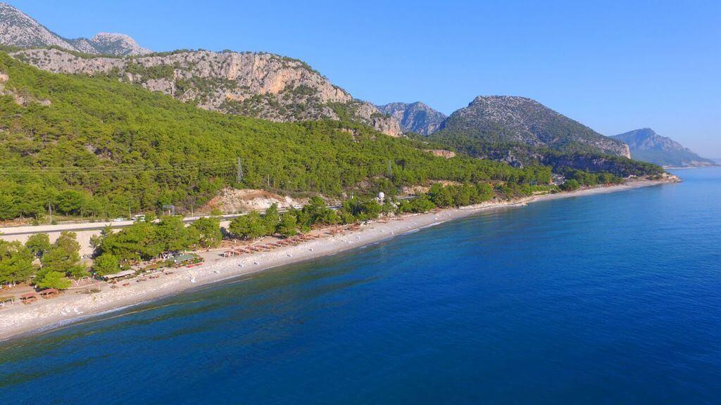 Antalya Kamp Alanları - Kargıcak Plajı Kamp Alanı