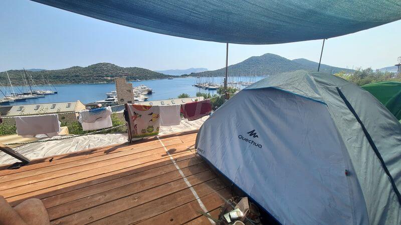 Kas Kamp Alanlari Arikan Yoruk Cadiri