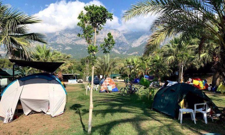 Kemer Kamp Alanlari Kaftan Camping