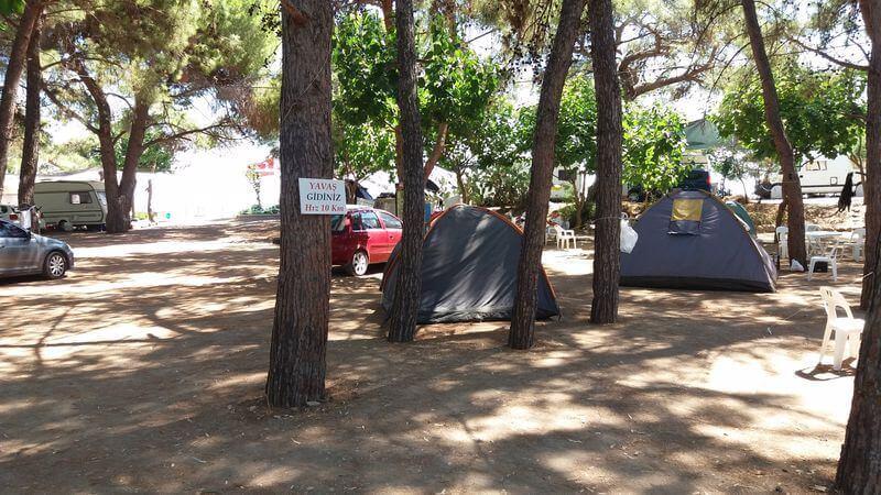 Kemer Kamp Alanlari Yildirim Camping