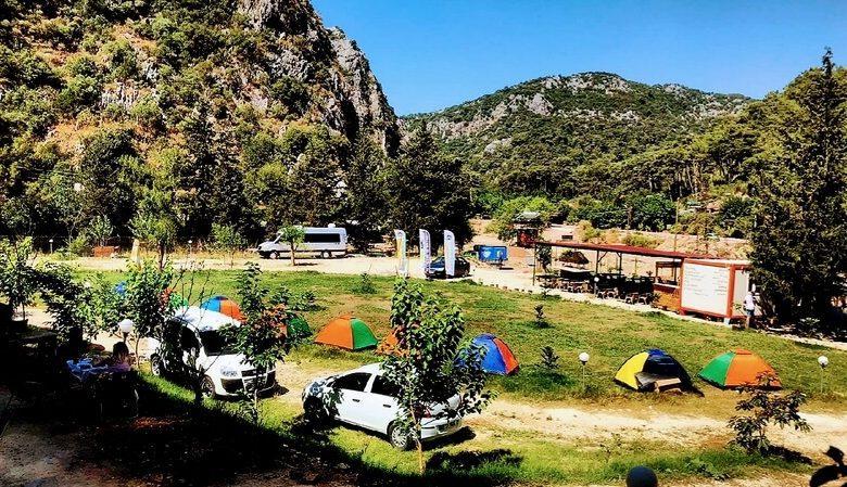 Olimpos Kamp Alanlari Corsan Camping