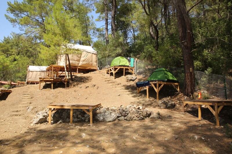 Olimpos Kamp Alanlariyalinayak