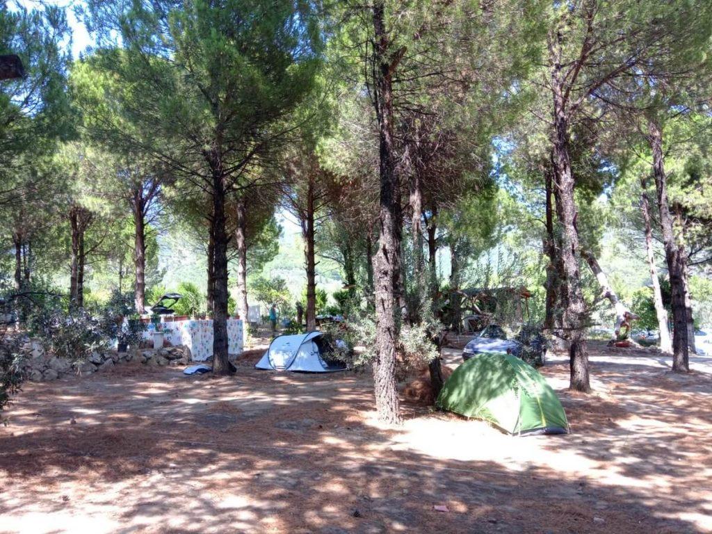 nek Obası Çadır Kampı 1