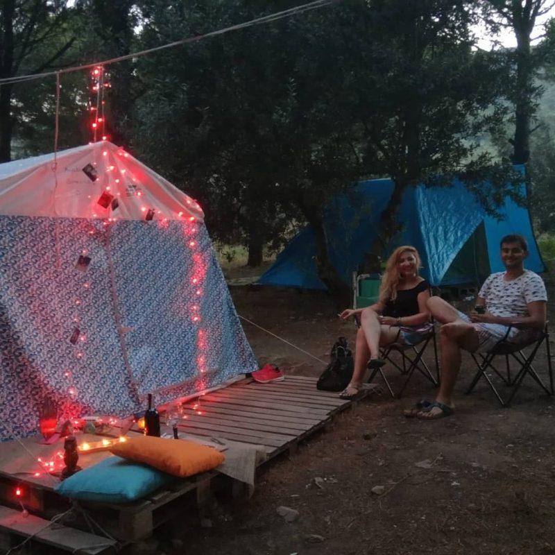 İnek Obası Çadır Kamp