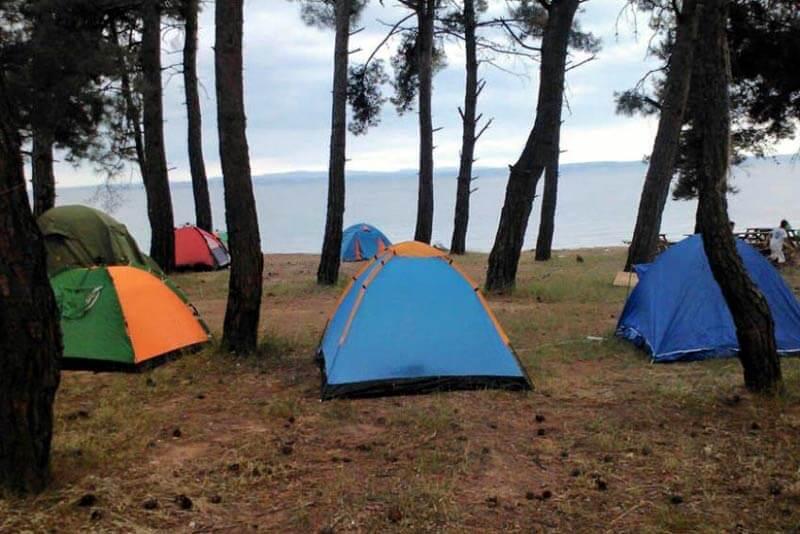 Gökçetepe Tabiat Parkı Kamp Alanı