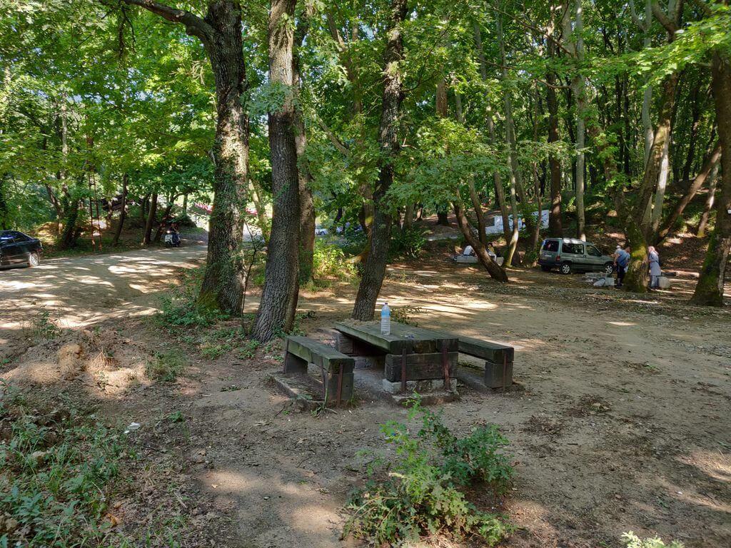 Çaylak Şelalesi Kamp Alanı