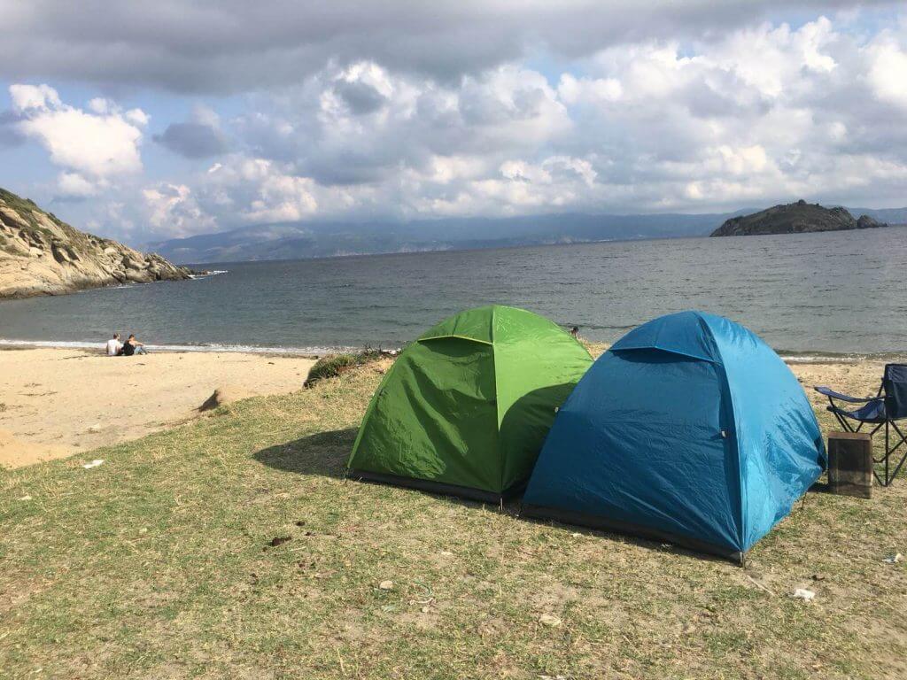 Küçükova Koyu Kamp Alanı