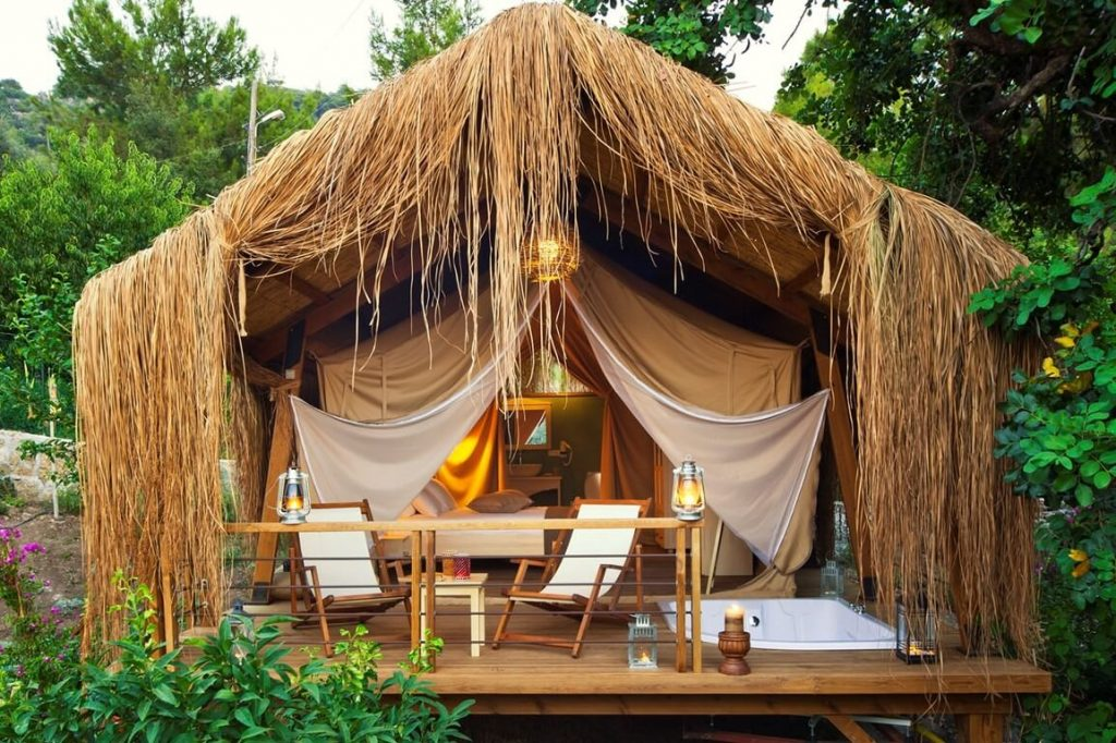 Perdue Hotel Glamping 1