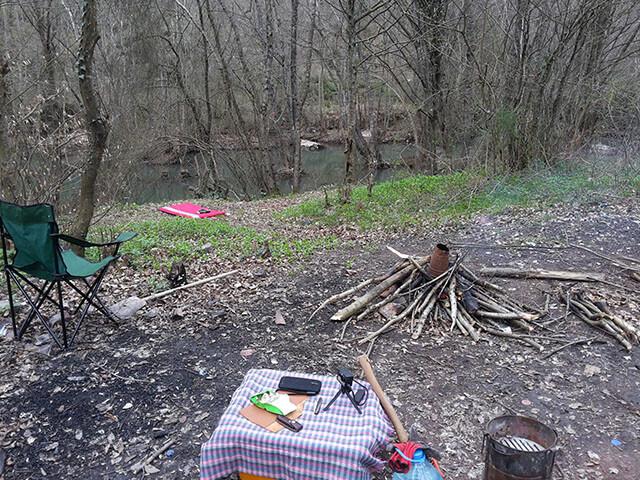 Bıçkıdere Köyü Kamp Alanı