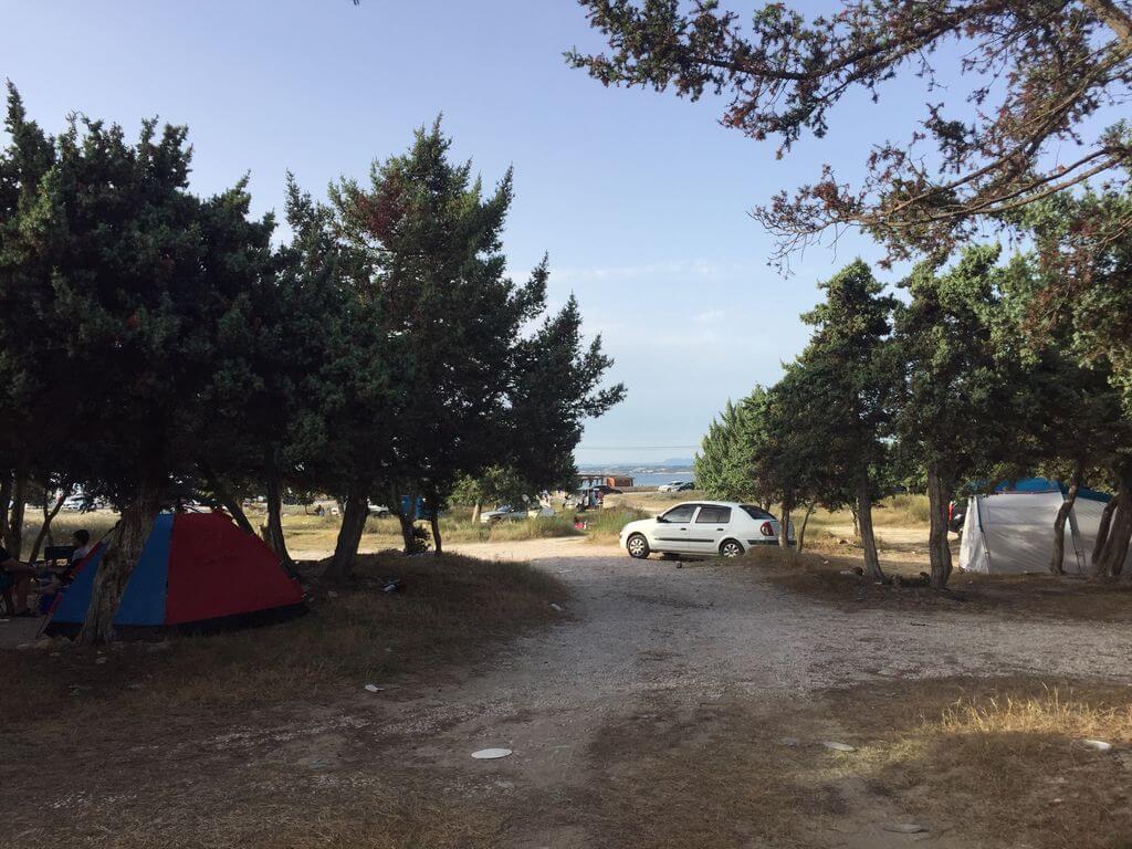 Pırlanta Plajı Kamp Alanı