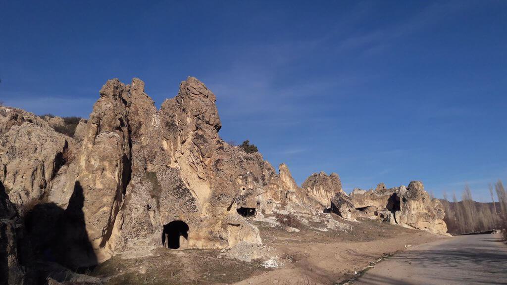 Ayazini Kasabası Kamp Alanı